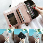 US Women Girls Short Wallet Coin Purse Organizer Pocket Small Credit Card Holder image