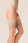 Gabriella Satin Thigh Band - Anti Chafing - Stops Legs Rubbing Together - BEIGE