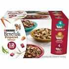 Purina Beneful Prepared Meals Adult Wet Dog Food Variety Pack,10 oz, 6 /12 pack