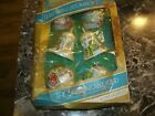 VINTAGE CHRISTMAS DECORTIONS THE UNBREAKABLE KIND 6 ORNAMENTS