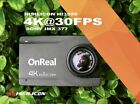 """OnReal Native 4K Waterproof Action Camera w/ Image Stabilization & 2.45"""" LCD"""