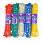 15M STRONG EVERLASTO 'ORIENT' PLASTIC CLOTHES WASHING LINE VARIOUS COLOURS