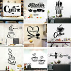 Large Removable Family Wall Sticker Art Vinyl Decal Mural Home Kitchen Decor