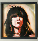 Chrissie Hynde (The Pretenders) Original Oil Painting Study 2019