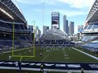 2 Seattle Seahawks vs New Orleans Saints Tickets Lower Level Aisle NFL Week 3 on eBay
