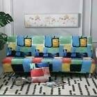 """Armless Sofa Bed Cover Futon Slipcover Couch Full Folding Elastic Stretch 70x45"""""""
