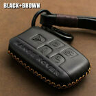 Car Premium Leather Remote Key Bag Case Cover Keychain Holder For Land Rover