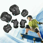 6pc Protective Gear Set for Roller Skating Skateboard Knee Elbow Wrist Guard Pad image