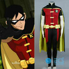 Anime Batman Young Justice Robin DC Comic cosplay costume outfit clothing