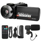 New HD 1080P 3.0 Inch Touch Screen WiFi Digital Zoom Video Cameras Camcorder