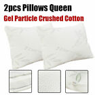 Cooling Gel Memory Foam Cluster Classic Standard Bed Pillows 1/2pack US Shipping image