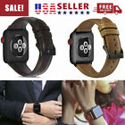 For AppleWatch Series 4 3 2 1 38/42mm Genuine Leather iWatch Band Strap Bracelet