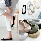 Women's Casual Cotton Invisible Low Cut Ultrathin Boat Non-Slip Loafer Socks