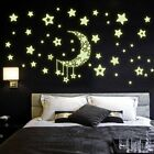 Diy Night Light Glow In The Dark Moon Stars Home Decoration New B5