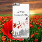 REMEMBRANCE ALWAYS REMEMBERED ARMY SOLIDER for iphone samsung huawei phone case