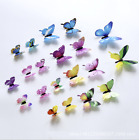 Uk 12pcs Butterfly 3d Wall Stickers Wall Decors Wall Art Wall Home Decorations