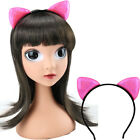 Kids Sequins Cat Ears For Girl Headband Hair Accessories Hairband 1PC Cute Shiny