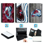 Colorado Avalanche Leather Women Wallet Purse Card ID Coin Holder $13.99 USD on eBay