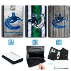 Vancouver Canucks Leather Women Wallet Purse Card ID Coin Holder $14.99 USD on eBay