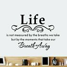 FixedPricevinyl home room decor art quote wall decal stickers bedroom removable mural diy