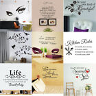 Kyпить Vinyl Home Room Decor Art Quote Wall Decal Stickers Bedroom Removable Mural DIY на еВаy.соm