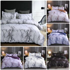 3Pcs Marble Printed Duvet Cover Set Brushed Microfiber Comforter Bedding Quilt  image