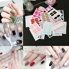3D Gradient Strips Nail Art Stickers Wraps Polish Women Manicure Tips Decals