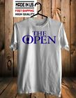 The Open Golf Championship Tee Shirt Short Slevee 100 % cotton made US