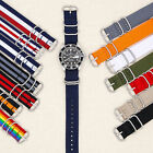 20mm Military Watch Strap Nylon 18mm 20mm 22mm Diver Raf Bonded Suisse $3.0 USD on eBay