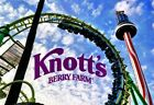 2 (TWO) Knott's Berry Farm Theme Park e-Tickets (for Child or Adult Admission) фото