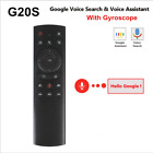 G20 2.4G Gyroscope Wireless Air Mouse With USB Receiver Voice Remote Control USA