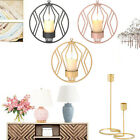Metal Candlestick Candle Holder Accessories Wall Decor Home Party Supply New