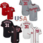 Men's Washington Nationals #31 Max Scherzer Flex Base Collection Player Jersey on Ebay