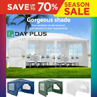 Pavilion Canopy Sun Shade Party Tent Garden Gazebo Marquee Wedding Canopy 4 Size