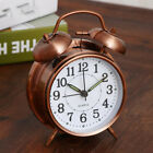 Creative Retro Alarm Clock Twin Bell Alarm Clock With Stereoscopic Dial