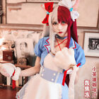 My Hero Academia Todoroki Shoto Genderbend Maid Uniform Cosplay Costume Skirt
