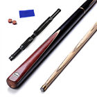 2 Pieces Cues Ash Snooker Pool Cue Set with Case for Tight Spaces SE09 $37.85 USD on eBay
