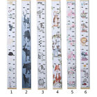 Nice Kids Growth Height Chart Ruler Child Room Decor Wall Hanging Decal Gift