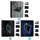 Carolina Panthers Leather Flip Case For iPad 1 2 3 4 Mini Air Pro 9.7 10.5 $20.99 USD on eBay