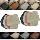 Universal Car Seat Cover Breathable PU Leather Pad Mat for Auto Chair Cushion 3D