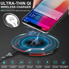 Qi Wireless Fast Charging Charger Pad for Samsung Galaxy S8 S7 S6 Edge 2019