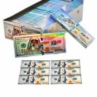 24 Booklets HONEYPUFF $100 Dollar Bill 110MM Cigarette Rolling Papers 576 Leaves