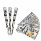 96 PCS $100 Dollar Bill King Size Cigarette Tobacco Rolling Papers Multicolored