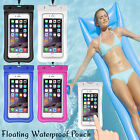 Floating Waterproof Pouch Underwater Dry Bag Case Swimming For iPhone Cell Phone