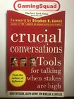 Crucial Conversations, Patterson, Grenny PB Book, Supplied by Gaming Squad