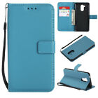 PU Leather Magnetic Closure Stand Case & Card Slots Cover for Huawei Honor 6C