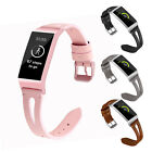 For Fitbit Charge 3 Replacement Wrist Bands Smart Watch Bracelet Band Leather