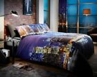 New 3D Duvet/Quilt Cover New York City Night Style Best Quality Bedding Sets
