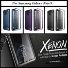 Galaxy Note 9 8 Case Clayco Rugged Shockproof Cover with Screen Protector
