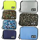 Electronics Accessories Organizer Travel Storage Hand Bag .Cable USB-Drive Case